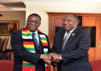 ZIMBABWE PRESIDENT IN ENERGY TALKS WITH ESKOM