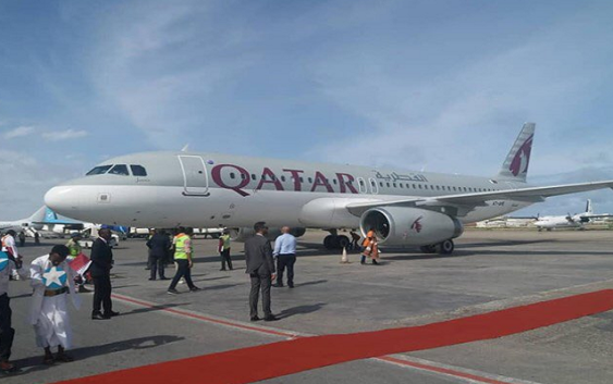 Qatar Airways Launch first flight to Somalia