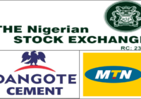 DANGOTE CEMENT AND MTN NIGERIA BATTLE FOR BIGGEST COMPANY ON THE NSE