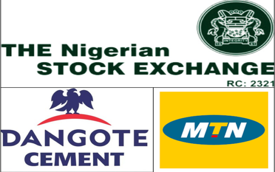 Dangote Cement and MTN Nigeria battle for number one spot on NSE