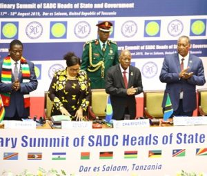 SADC Summit 2019