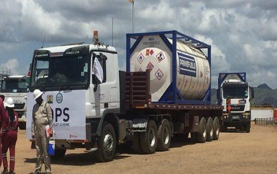 Kenya First Shipment crude oil