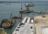LAMU PORT FIRST BERTH COMPLETED IN KENYA