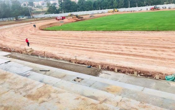 Gusii Stadium track problem