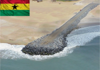 GHANA KICK STARTS CONSTRUCTION OF ANOMABE SEA DEFENSE WALL.
