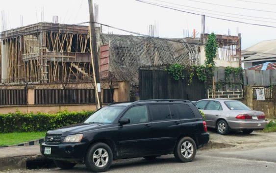 BUILDING COLLAPSE IN WOJI, PORT HARCOURT