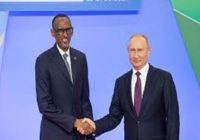 RUSSIA TO DEVELOP A NUCLEAR POWER PLANT IN RWANDA