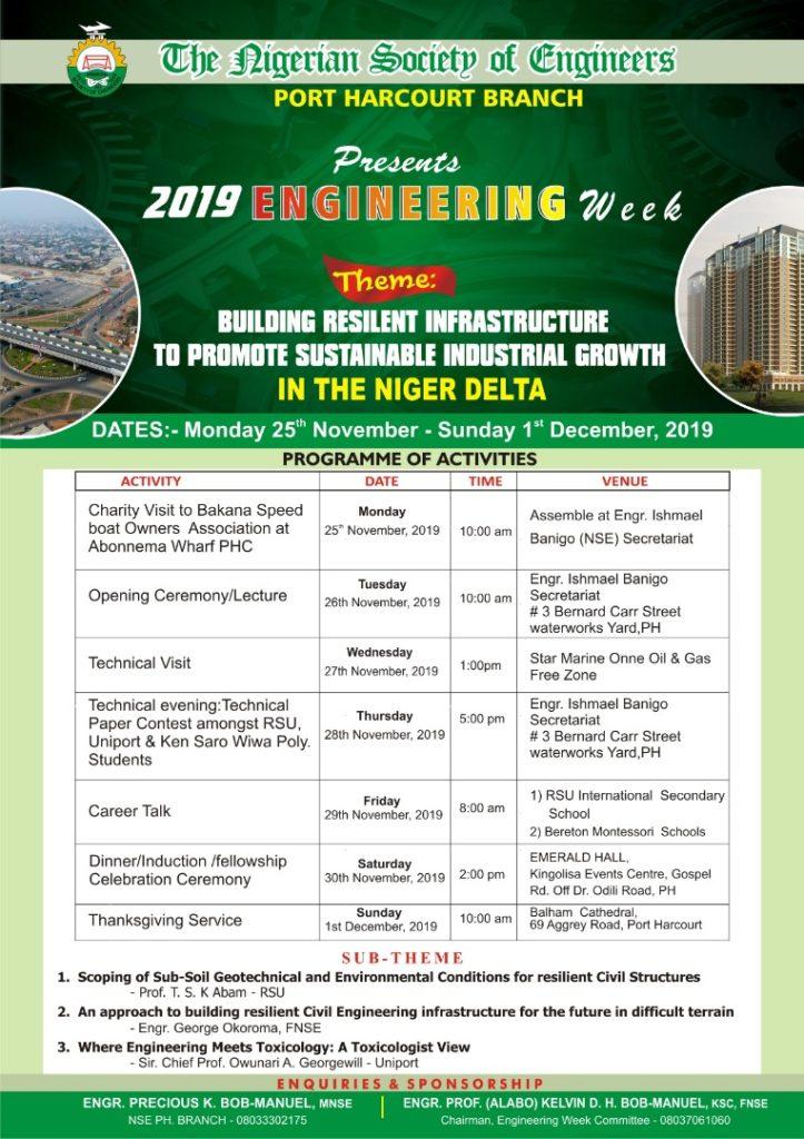 2019 Engineering Week