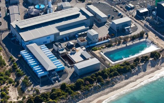 Desalination plant in egypt