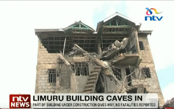 Limuru building collapse