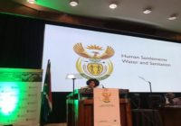 SOUTH AFRICA WATER MASTER PLAN LAUNCHED