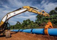 NEW WATER PIPELINE LAYING CREATES TRAFFIC JAM AT NAMUGONGO ROAD