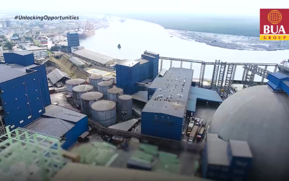AFRICA'S LARGEST SUGAR REFINERY