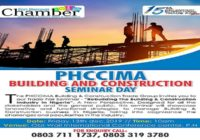 PHCCIMA BUILDING AND CONSTRUCTION SEMINAR