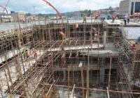 PICTURES FROM CONSTRUCTION OF NEW NGONG MARKET IN KENYA