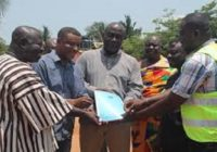 ABIREM ROAD CONSTRUCTION BEGINS IN GHANA