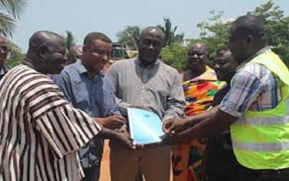 Ghana's Abirem road construction begins