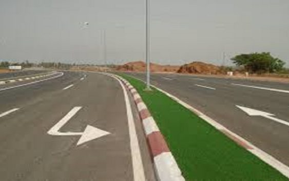 Adama Barrow road project
