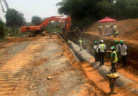 LIBERIA's RAW WATER PIPELINE CONSTRUCTION 50% COMPLETED