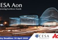 CESA AON ENGINEERING EXCELLENCE AWARDS 2020
