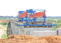 ISIMBA BRIDGE CONSTRUCTION AT 55% COMPLETED IN UGANDA