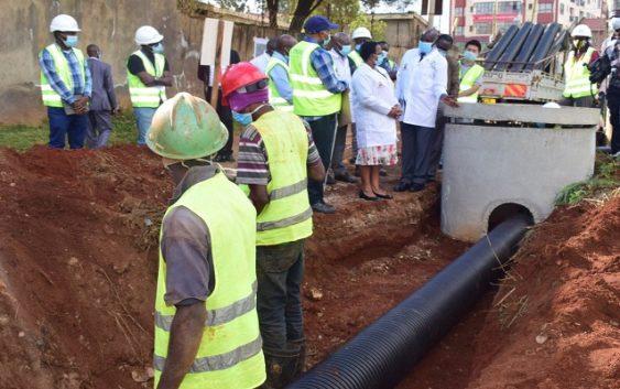 construction of Kiambu-Ruaka water supply