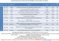 ACEN SCHOOL OF CONSULTING ENGINEERING 2020 CALENDAR