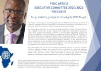 PRESIDENT OF FIDIC AFRICA WILL SPEAK ON AFRICA'S RESPONSE TO THE COVID-19 PANDEMIC