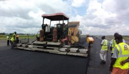CONTRACTOR RETURN TO SITE FOR COMPLETION OF ENUGU AIRPORT IN NIGERIA