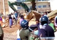 KARATINA RESIDENT FACE BUILDING DEMOLITION IN KENYA