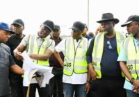 CONSTRUCTION OF 8.75KM LONG REGION ROAD FLAG-OFF IN LAGOS