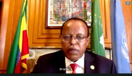 REMARKS BY AMBASSADOR OF ETHIOPIA TO THE UNITED NATIONS ON AU-LED GERD NEGOTIATIONS