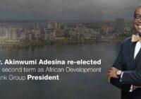 DR. AKINWUMI ADESINA RE-ELECTED AS AfDB PRESIDENT
