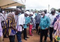 GHANA PRESIDENT CUT SOD ON DAMONGO WATER PROJECT