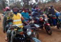 MAKENGI RESIDENTS PROTESTS OVER SLOW ROAD CONSTRUCTION IN KENYA