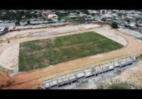 KOFORIDUA STADIUM CONSTRUCTION NEARS COMPLETION IN GHANA