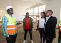 CONSTRUCTION OF UHURU CHAMWINO HOSPITAL NOW 87% COMPLETE IN TANZANIA