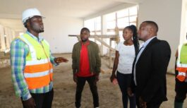 CONSTRUCTION OF UHURU CHAMWINO HOSPITAL NOW 87% COMPLETE IN TANZANIA
