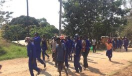 CONSTRUCTION WORKERS HANDLING NKHATA BAY MARKET PROJECT END TWO WEEKS STRIKE IN MALAWI