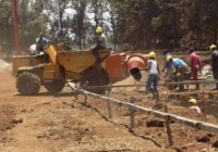 CONSTRUCTION OF WANG'URU STADIUM BEGINS IN KENYA