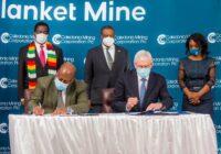 CALEDONIA MINING CORPORATION DEEPENS COMMITMENT TO ZIMBABWE