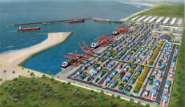 QUAY WALL CONSTRUCTION COMMENCE AT LEKKI DEEP SEAPORT IN NIGERIA
