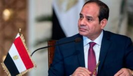 EGYPT PRESIDENT DIRECTS TRADE INDUSTRY TO EASE ITS PROCEDURE FOR OBTAINING LICENCES AT INDUSTRIAL COMPLEXES