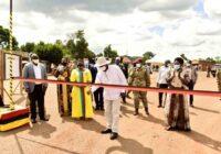 UGANDA PRESIDENT COMMISSIONED 104KM MUSITA-MAJANJI ROAD