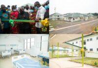GHANA PRESIDENT COMMISSIONED ULTRA MODERN BEKWAI MUNICIPAL HOSPITAL