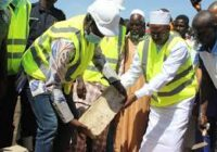 MINISTER LAY FOUNDATION STONE FOR MINI-STADIUM CONSTRUCTION IN GAMBIA