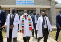 ZIMBABWE PRESIDENT COMMISSION MSU INDUSTRIAL PARK