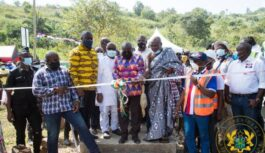 GHANA PRESIDENT COMMISSION FIRST MICRO POWER GENERATING STATION