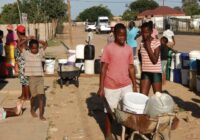 MOOKGOPHONG 10YEARS WATER SHORTAGE NEEDS IMMEDIATE INTERVENTION IN SOUTH AFRICA