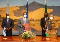 NAMIBIA AND BOTSWANA SIGN PARTNERSHIP FOR MUTUAL COOPERATION